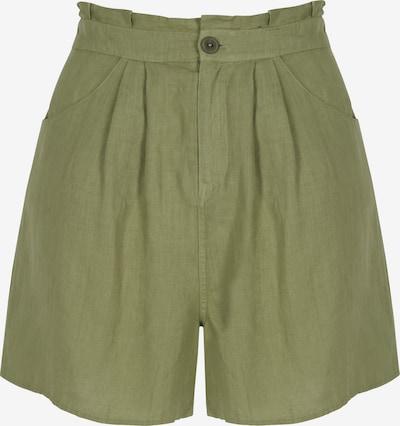 Aligne Pantalón plisado 'Claudeth' en caqui, Vista del producto