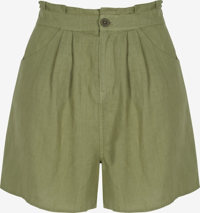 Aligne Shorts 'Claudeth' in khaki, Produktansicht