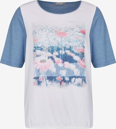 Rabe Motivdruck Shirt in blau, Produktansicht