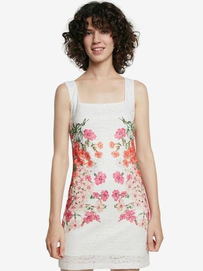 Desigual Kleid 'SANDRA' in mischfarben / weiß, Modelansicht