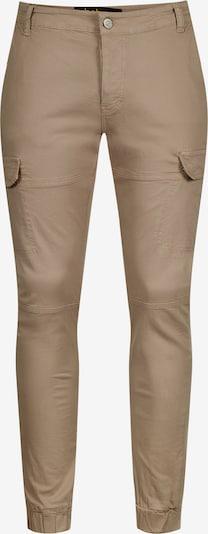 behype Cargohose 'B-JAY' in beige, Produktansicht