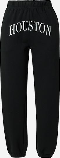 Tally Weijl Pantalon en noir / blanc, Vue avec produit