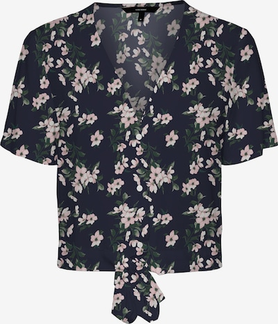VERO MODA Blusa 'Simply' en beige / azul noche / verde / rosa, Vista del producto