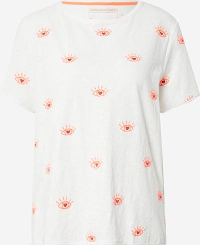LIEBLINGSSTÜCK T-shirt 'Cirsten' en corail / blanc, Vue avec produit