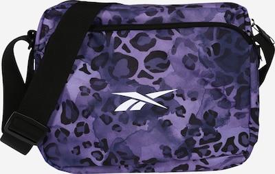 REEBOK Športna torba | lila / črna / bela barva, Prikaz izdelka