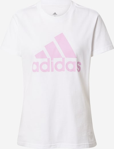 ADIDAS PERFORMANCE T-shirt fonctionnel en mauve / blanc, Vue avec produit