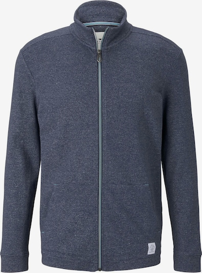TOM TAILOR Sweatjacke in blau, Produktansicht