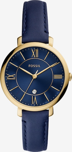FOSSIL Analogové hodinky 'JACQUELINE' - tmavě modrá / zlatá, Produkt