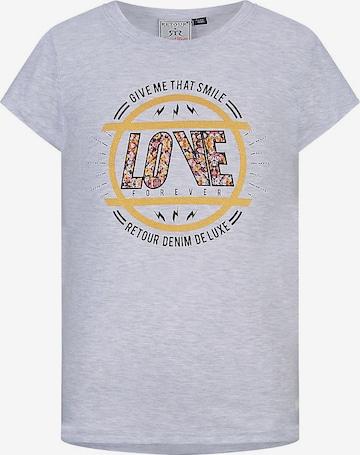 Retour Jeans T-Shirt 'Diaz' in Grau