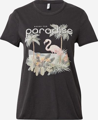 ONLY T-Shirt in mischfarben / schwarz, Produktansicht