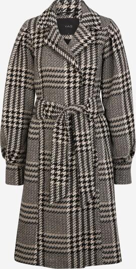 Y.A.S Tall Mantel 'PONGA' in schwarz / weiß, Produktansicht