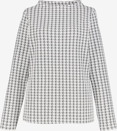 Gina Laura Sweatshirt in creme / schwarz, Produktansicht