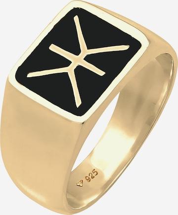 KUZZOI Ring Siegelring in Gold