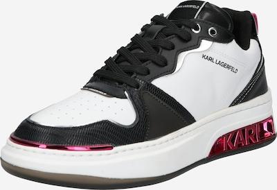 Karl Lagerfeld Sneaker 'ELEKTRA' in pink / schwarz / weiß, Produktansicht