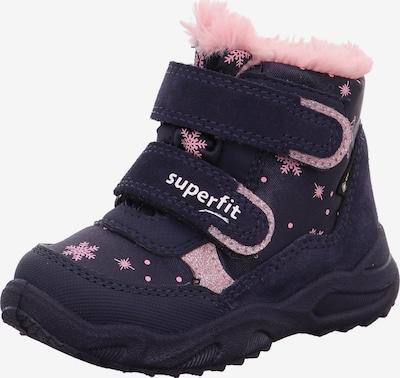 SUPERFIT Sniega apavi 'GLACIER' zils / rožkrāsas, Preces skats