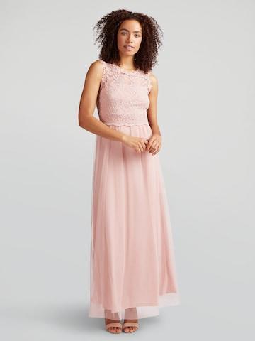 Rochie de seară 'VILYNNEA' de la VILA pe roz