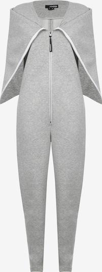 Monosuit Jumpsuit 'NEW-YORK' in hellgrau, Produktansicht