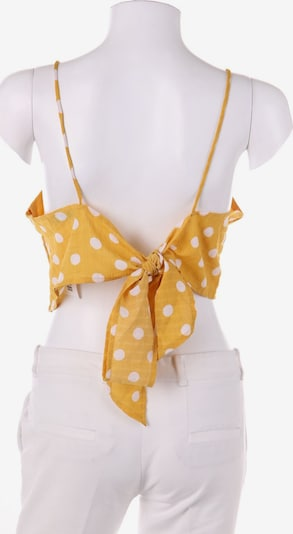 GLAMOROUS Top & Shirt in M in yellow gold / White, Item view