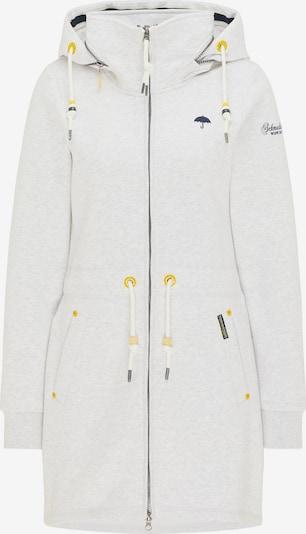 Schmuddelwedda Sweatjacke in weiß, Produktansicht