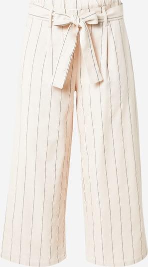VILA Pantalon à pince 'KULIO' en crème / gris, Vue avec produit