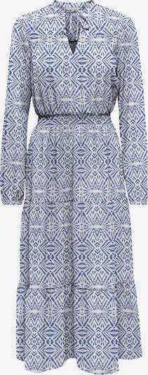 Rochie tip bluză 'Nova' ONLY pe albastru / alb, Vizualizare produs