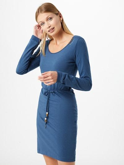 Ragwear Kleid 'Peliada' in himmelblau / weiß, Modelansicht