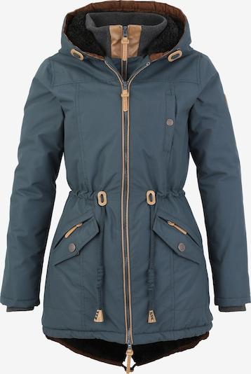 BRAVE SOUL Mantel in rauchblau, Produktansicht