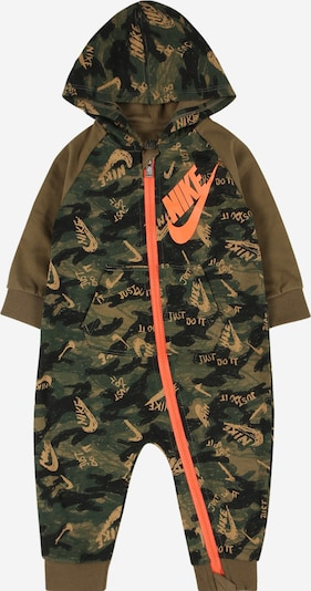 Nike Sportswear Jednodijelni komplet u kaki / maslinasta / tamno zelena / losos, Pregled proizvoda