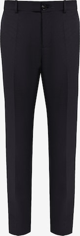 Finn Flare Pleated Pants in Black