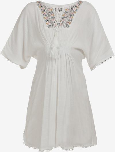 DreiMaster Vintage Kleid in mischfarben / naturweiß, Produktansicht