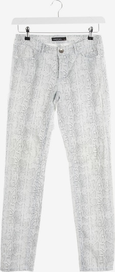 Marc Cain Jeans in 27 in creme / grau: Frontalansicht