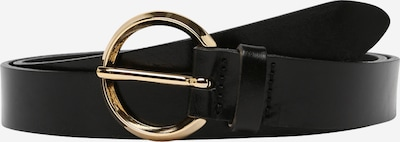 VANZETTI Gürtel in schwarz: Frontalansicht
