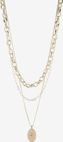 PIECES Kette 'Sanny' in Yellow