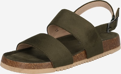 ABOUT YOU Sandale 'Defne' in khaki, Produktansicht