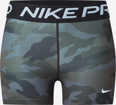 NIKE Pantalon de sport en gris / olive, Vue avec produit