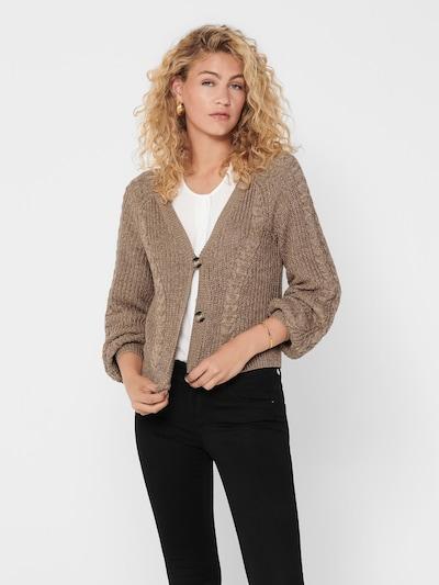 ONLY Strickjacke 'Rosie' in mottled brown, View model