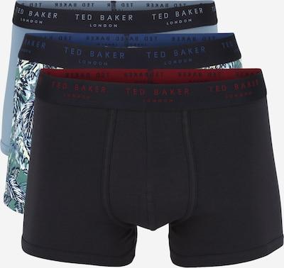 Ted Baker Boxershorts in de kleur Nachtblauw / Lichtblauw, Productweergave