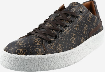 GUESS Sneaker 'ZURIGO' in Brown