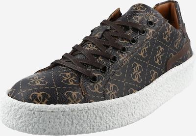 GUESS Sneaker 'ZURIGO' in hellbeige / dunkelbraun, Produktansicht