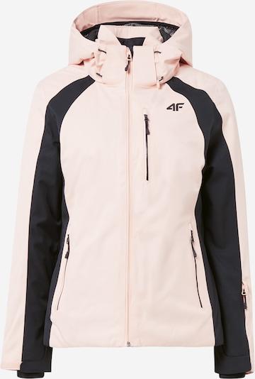 4F Jacke in rosa / schwarz, Produktansicht