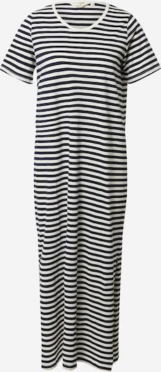 basic apparel Robe d'été 'Rita' en bleu marine / blanc, Vue avec produit