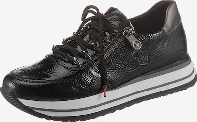 RIEKER Låg sneaker i svart, Produktvy