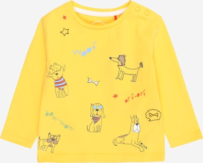s.Oliver T-Shirt en bleu clair / jaune / rouge / noir, Vue avec produit