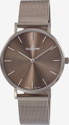 DUGENA Analog Watch in Brown