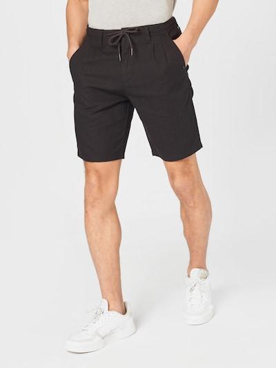 Only & Sons Plisované nohavice 'ONSLEO' - čierna, Model/-ka