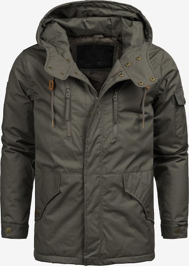 INDICODE JEANS Winterjas 'Elmhurts' in de kleur Grijs, Productweergave
