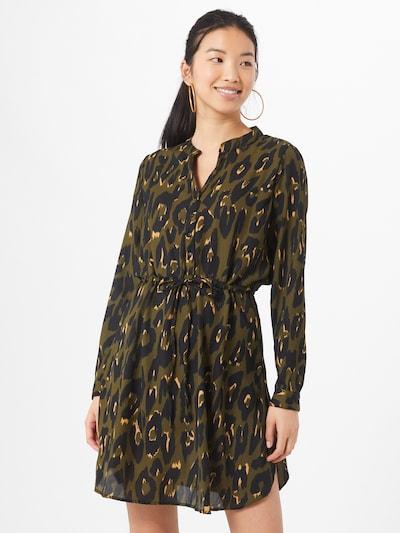Rochie tip bluză 'Cory' ONLY pe verde / negru, Vizualizare model