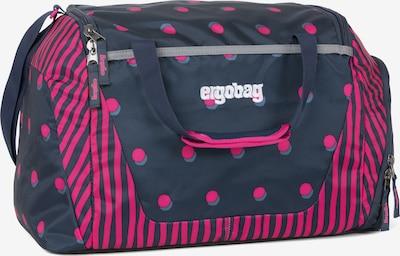 ergobag Sporttasche in taubenblau / fuchsia, Produktansicht
