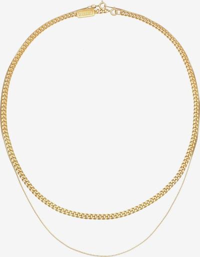 KUZZOI Halskette Basic Kette in gold, Produktansicht