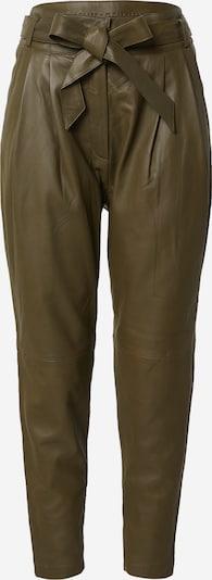 Pantaloni cutați Copenhagen Muse pe oliv, Vizualizare produs